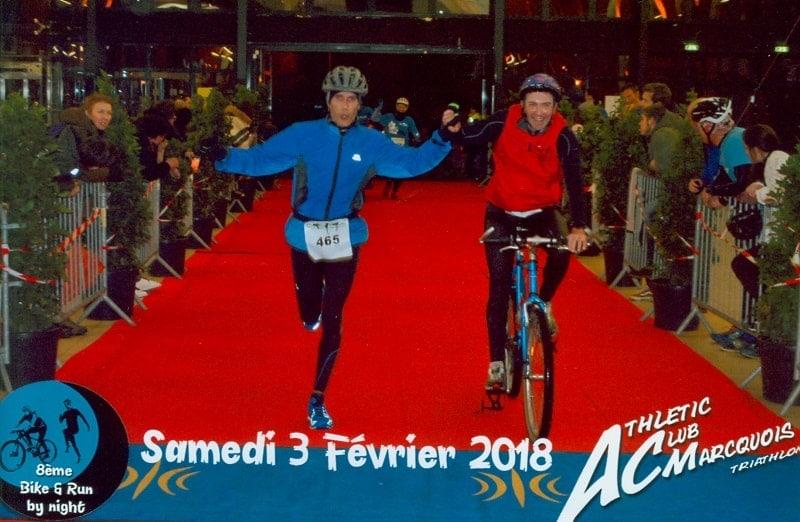 Think engage une équipe au Bike & Run de Marcq-en Baroeul