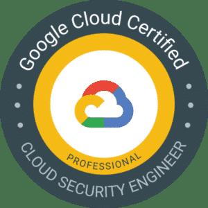 Certification Google Cloud Associate - Cloud Security Engineer
